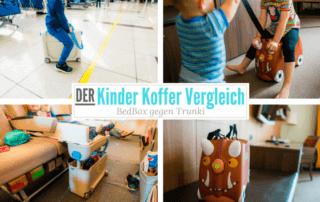 JetKids BedBox vs. Trunki: Duell der Kinderkoffer