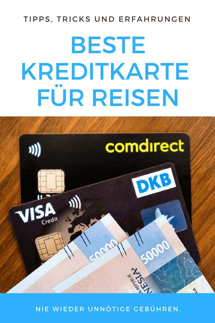 Visa Karte Comdirect.Welche Kreditkarte Auf Reisen Nutzen Unser Vergleich
