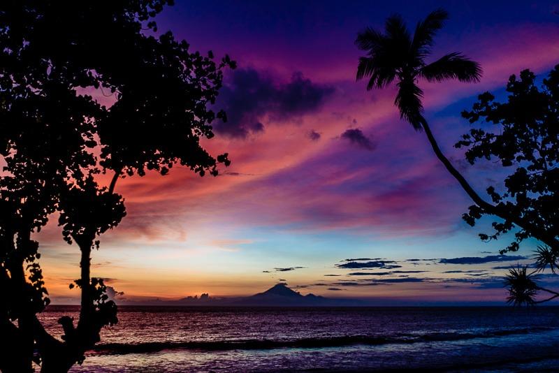 Sonnenuntergang Gunung Agung 015
