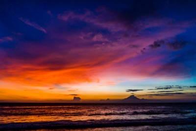Sonnenuntergang Gunung Agung 018