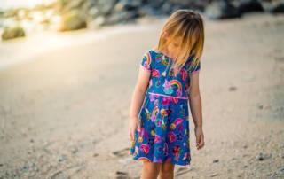 Skaterkleid von Klimperklein: Drehkleid für Prinzessin Sophia