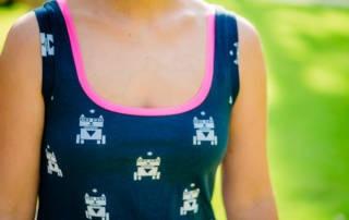 Top nähen: Schnittmuster Lupita als luftiges Sommertop