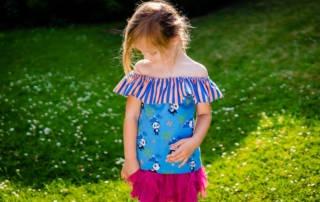 Freebook You Top Kids von Frau Ninchen: Rüschen am Ausschnitt