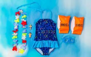 Badeanzug selber nähen: Zweiter Badeanzug aus Badelycra