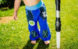 Pumphose Frida: Schnittmuster für einfache Kinderhosen