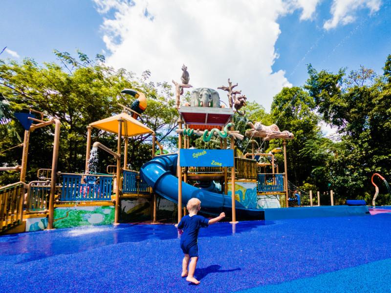 Wasserpark Zoo Singapur 002