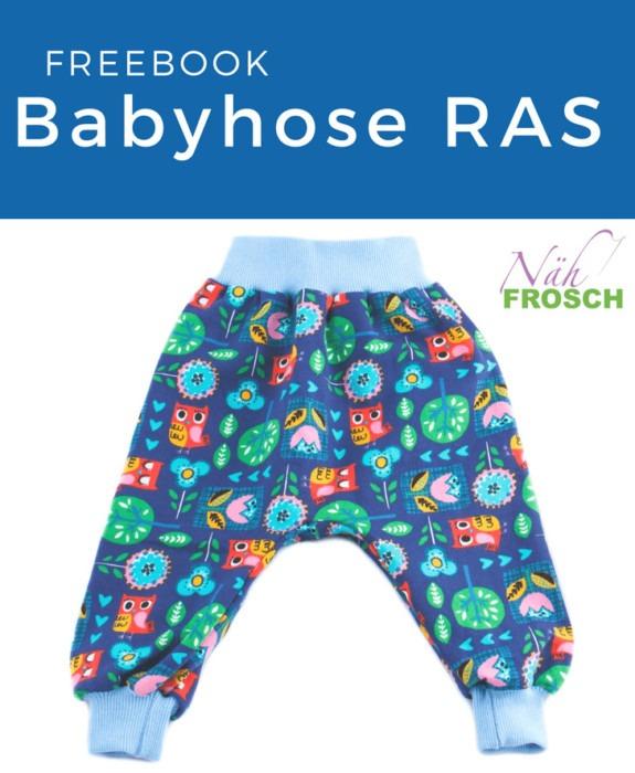 Babyhose nähen RAS Sidebar