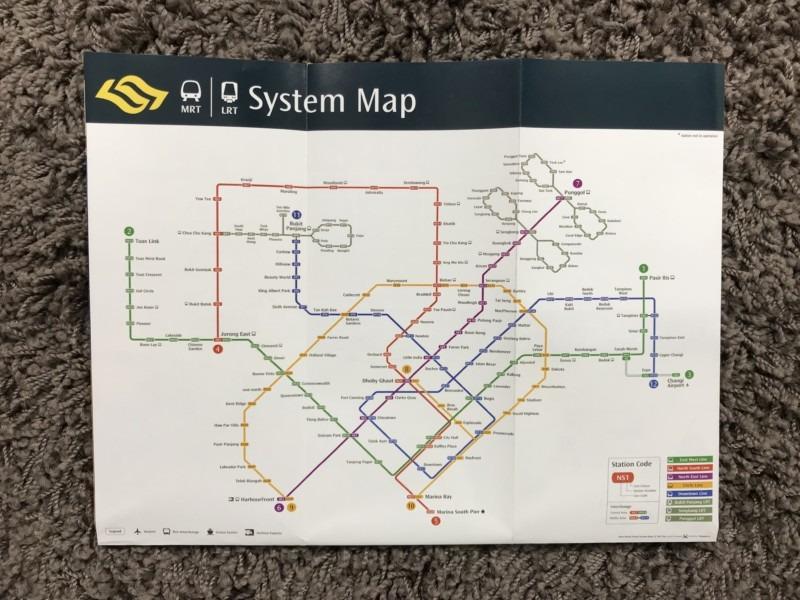 MRT Plan Singapur