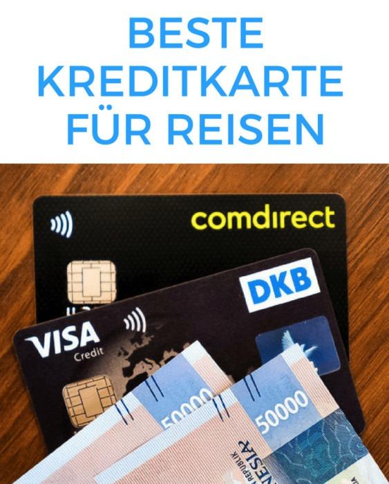 Reisekreditkarte Sidebar