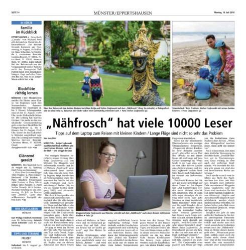 Nähfrosch Presse Offenbach Post