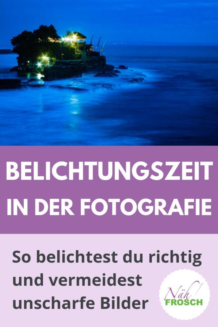 Belichtungszeit Fotografie