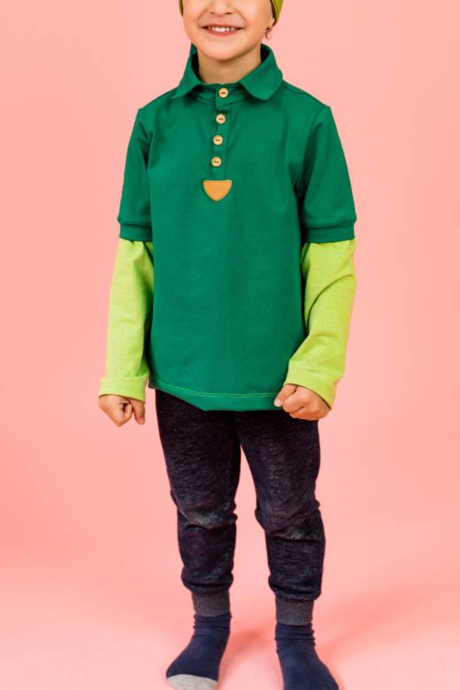 210408 Polo Shirt Naik Alex Link und Pailletten 038