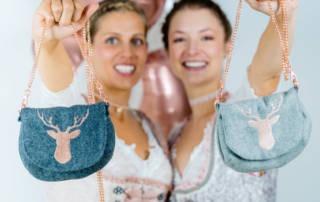 Oktoberfest Tasche nähen: Anleitung für Tasche mit Kette