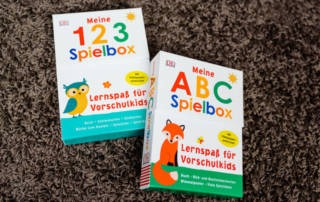 Meine 123 Spielbox und meine ABC Spielbox - Rezension