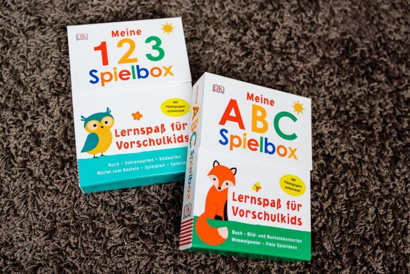 Meine 123 Spielbox und Meine ABC Spielbox