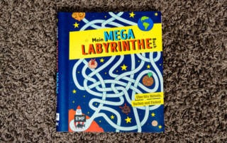Mein Mega Labyrinthe Buch - Buchrezension