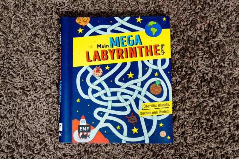 Mein Mega Labyrinthe Buch