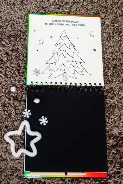 Kritzel Kratzel Malbuch - Weihnachten