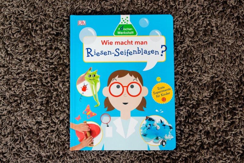 Buch: Wie macht man Riesen-Seifenblasen?