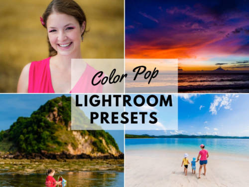 Color Pop LR Presets