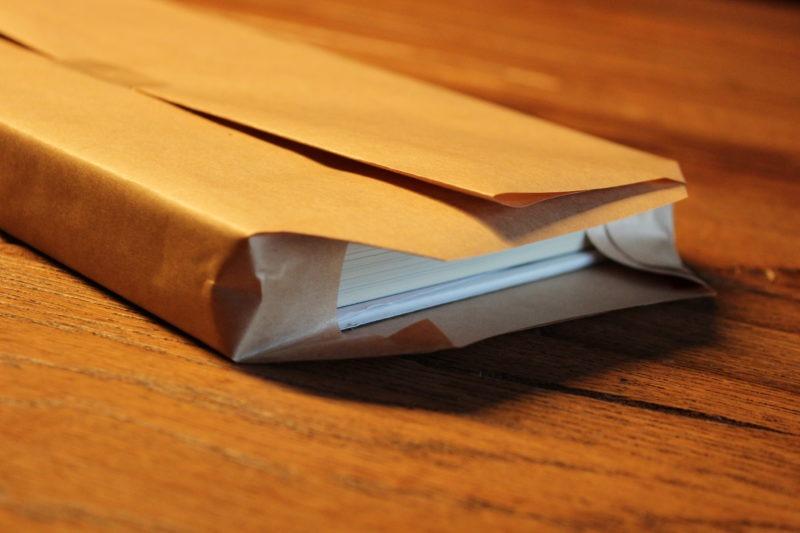 Geschenke verpacken mit Packpapier 2