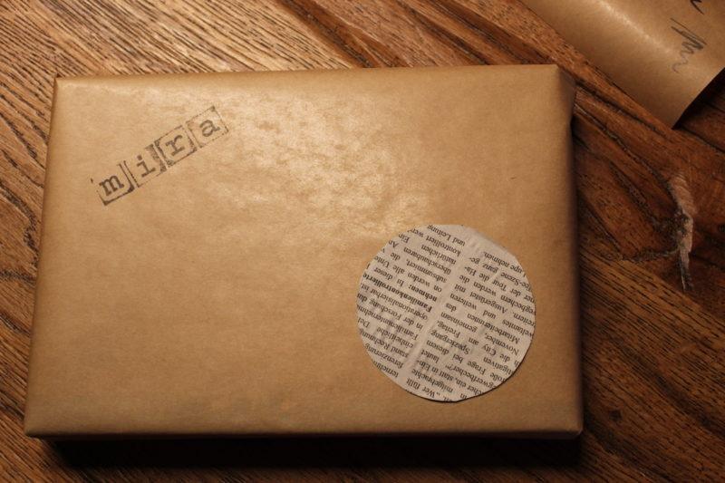 Geschenke verpacken mit Packpapier 6