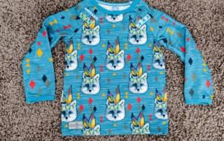 Shirt für Jungs nähen im Boho Style