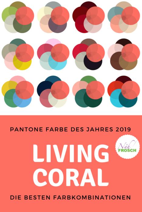 Pantone Farbe 2019: Wie ihr Living Coral kombinieren könnt