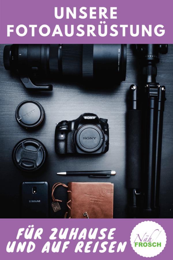 Unsere Fotoausrüstung