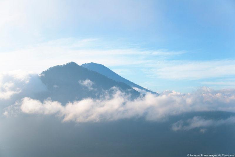 Vulkan Gunung Agung auf Bali