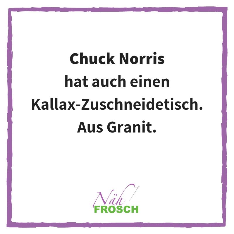 Chuck Norris Kallax Näh Sprüche Lustig Nähen Zuschneiden