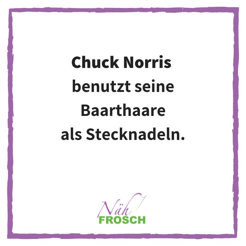 Chuck Norris Näh Sprüche Lustig Stecknadel Nähen