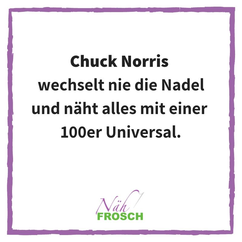 Chuck Norris Näh Sprüche Lustig Nähen Nadel Nähmaschine