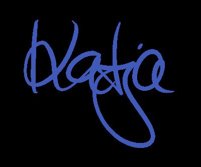 Unterschrift Katja