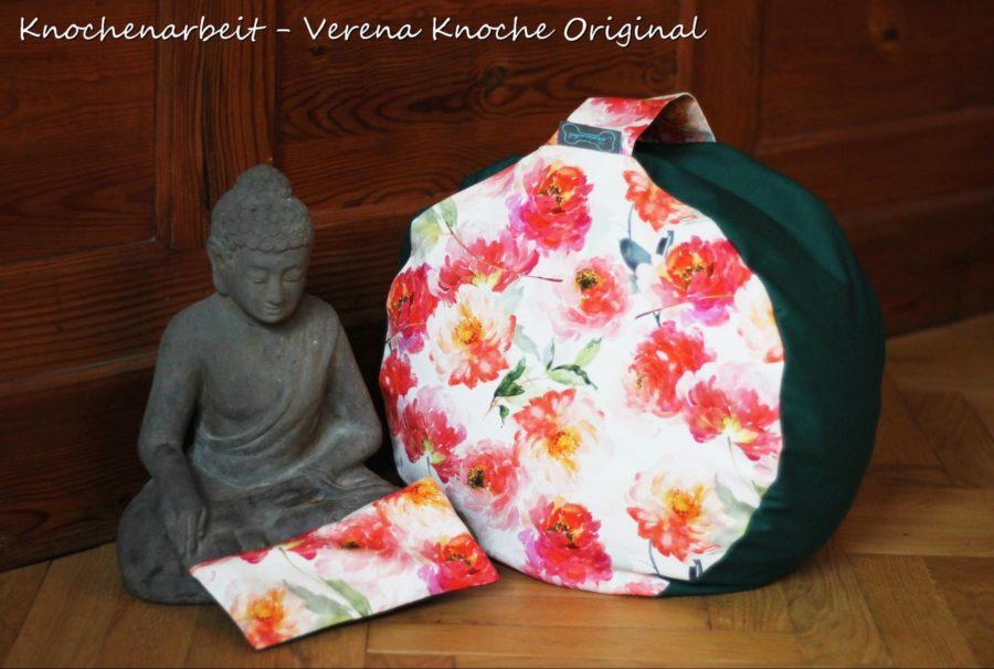 Meditationskissen Yogakissen naehen 2