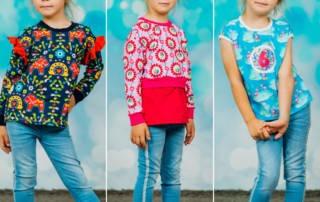 Das Schnittmuster Mädchen Shirt Lembut