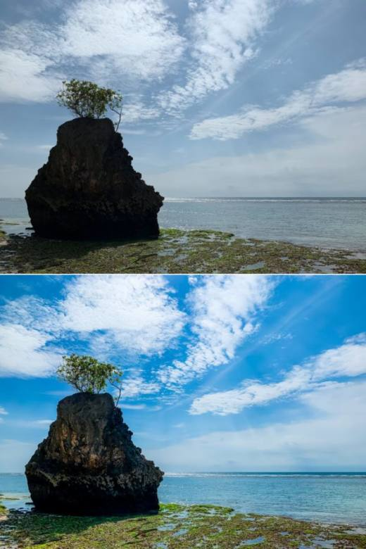 Nanggu Before After