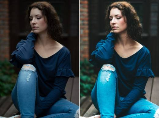 Portrait Before After 2