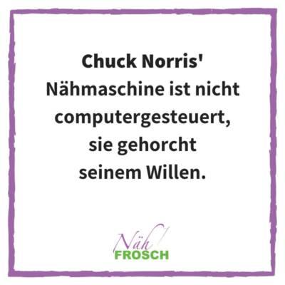 ChuckNorrisNaehmaschine