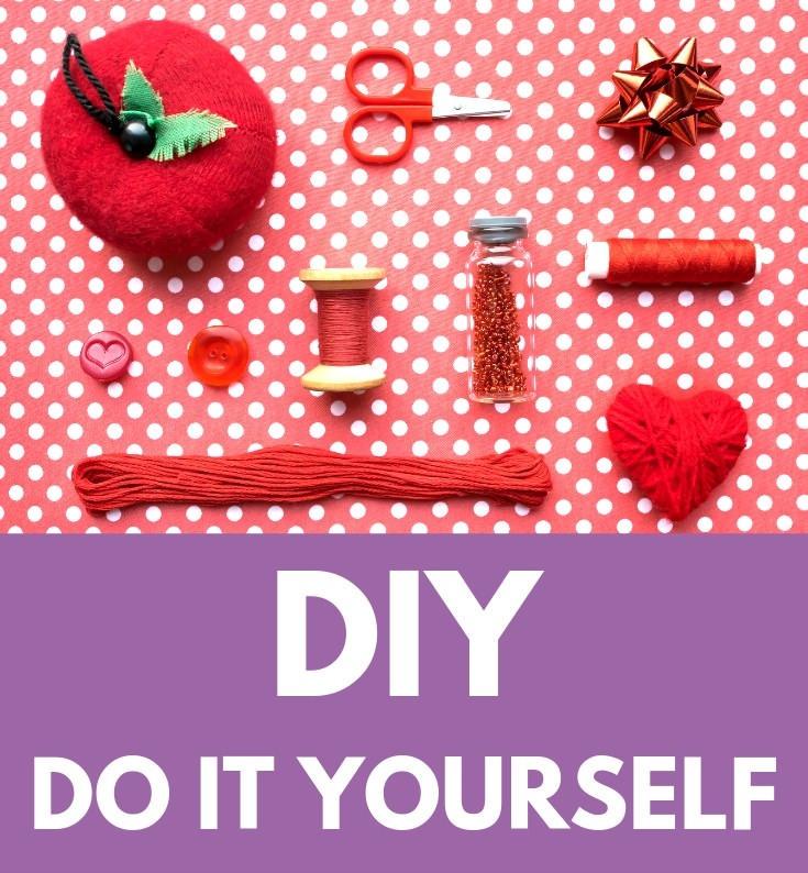 DIY Do It Yourself klein