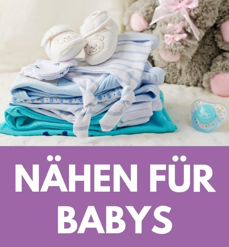 Naehen fuer Babys klein