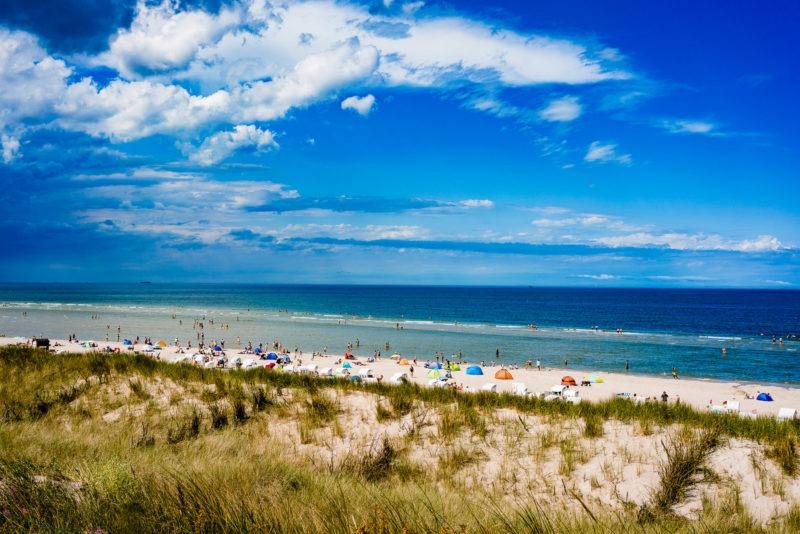 Nordsee Strände: Nach den Dünen geht's zum Strand auf Spiekeroog