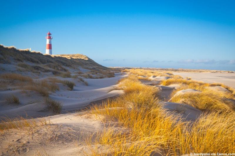 Nordsee Strände Sylt Lister Ellenbogen