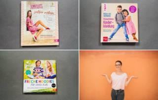 Neue Nähbücher mit Jumpsuits für Damen, Kinder Hoodies und Kinderkleidung aus Webwaren