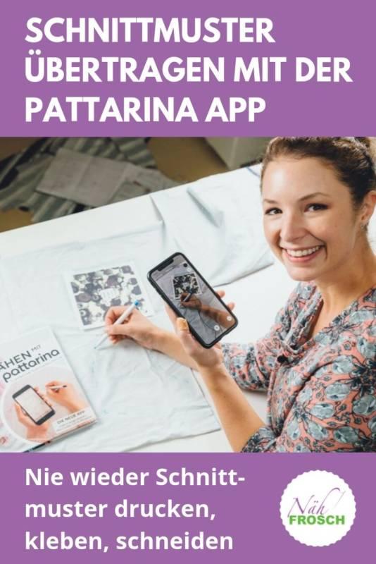 Pattarina App Schnittmuster zuschneiden