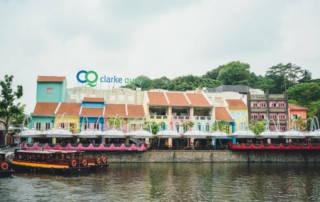 Singapur Clarke Quay und Bootstour auf dem Singapore River