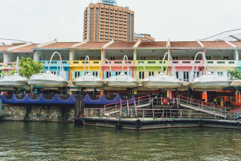 Singapur Bootstour 111