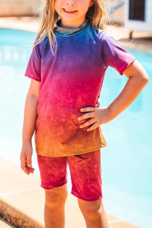 UV Shirt naehen fuer Kinder 004
