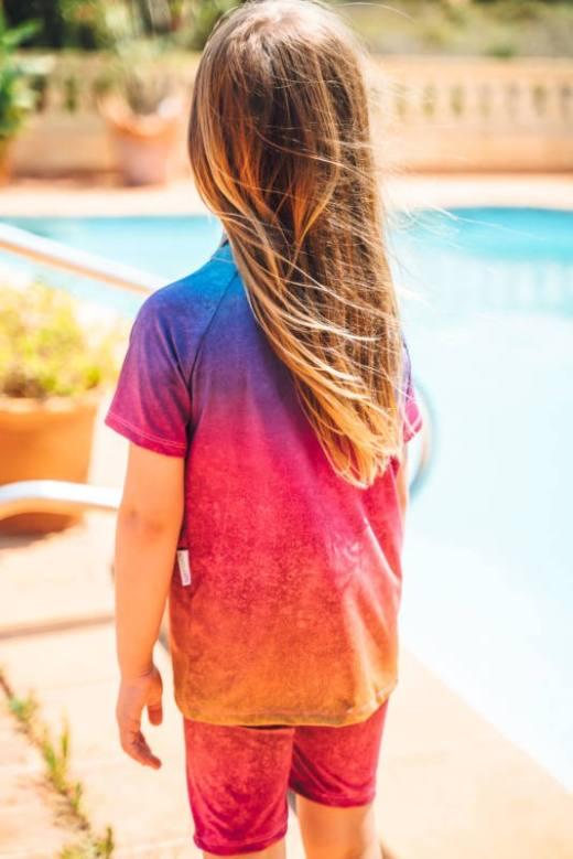 UV Shirt naehen fuer Kinder 006