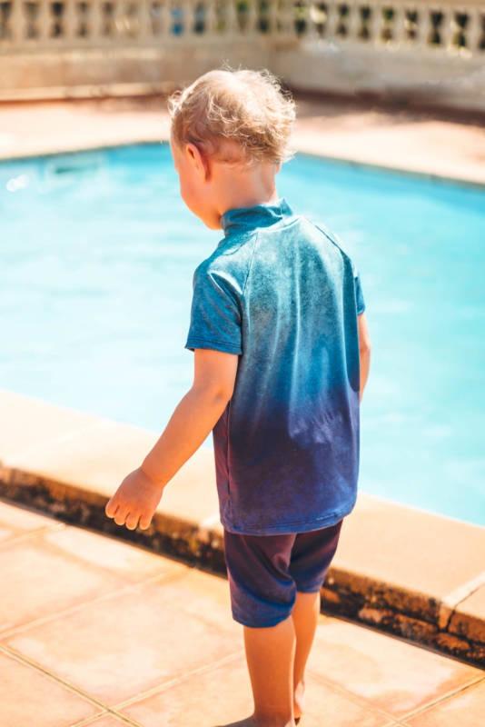 UV Shirt naehen fuer Kinder 020